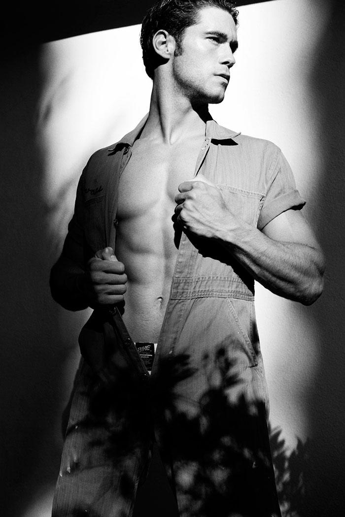 Brand Model And Talent Nick Ayler Men