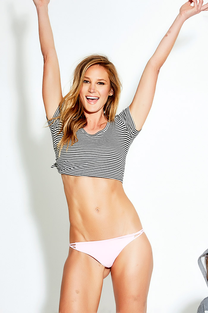 Tall Bikini Model