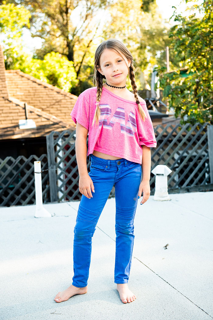 Brand Model and Talent   Chance Colette Kids Girls